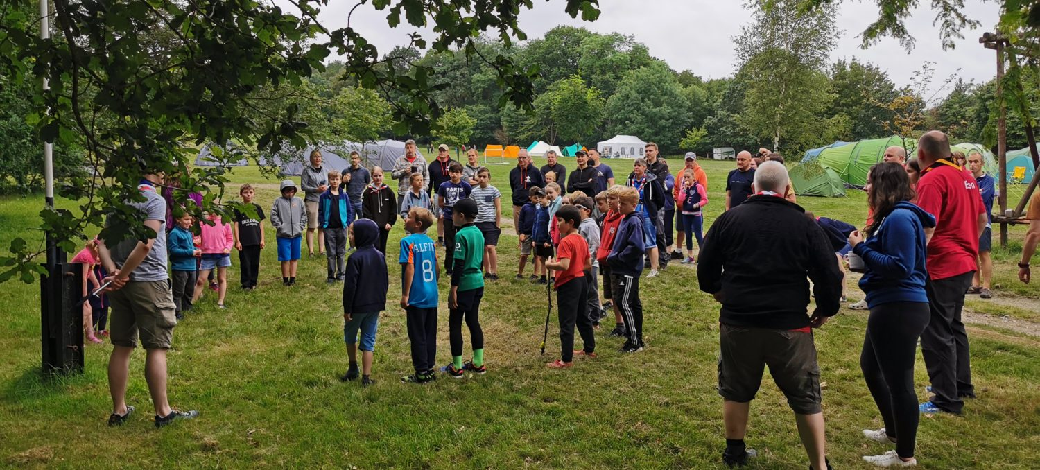 Opening ceremony of Family Camp